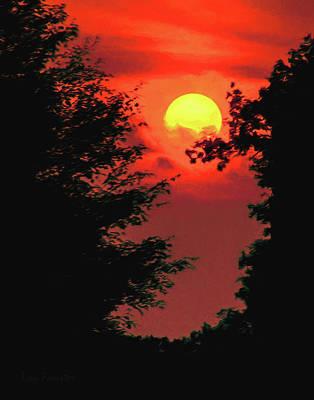 Photograph - Iola September Sunset by Trey Foerster