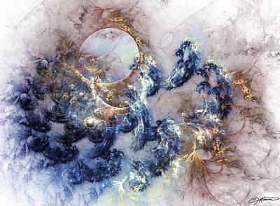 Ion Storm Art Print