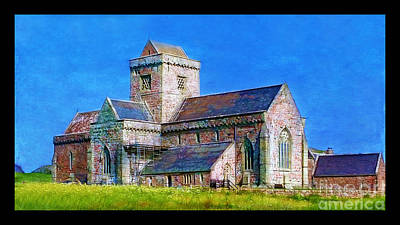 Photograph - Iona Abbey by Judi Bagwell