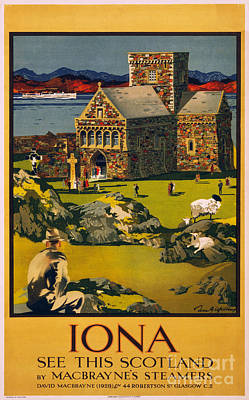 Painting - Iona Scotland by Celestial Images