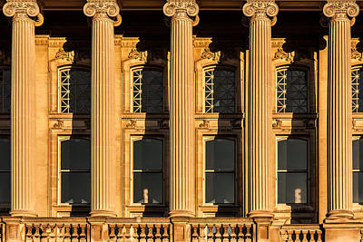 Photograph - Ionic Columns by Todd Klassy