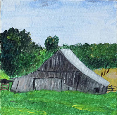 Painting - Iowa Barn No 4 2016 by Kevin Callahan