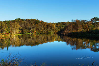 Photograph - Iowa Fall Day by Edward Peterson