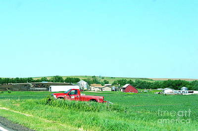Photograph - Iowa Farm by Phyllis Kaltenbach