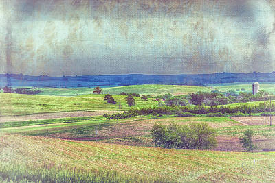 Photograph - Iowa Farmland by Pamela Williams
