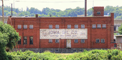 Photograph - Iowa Oil Company by J Laughlin