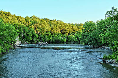 Photograph - Iowa River 2 by Bonfire Photography
