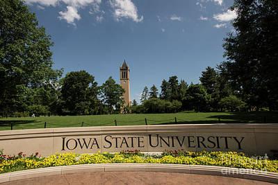 Photograph - Iowa State University Campanile by David Bearden