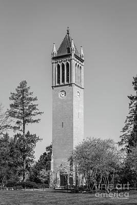 Photograph - Iowa State University Campanile Vertical by University Icons