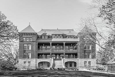 Photograph - Iowa State University Catt Hall by University Icons