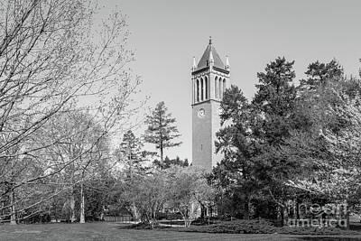 Photograph - Iowa State University Landscape by University Icons