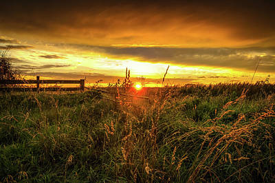 Photograph - Iowa Sunset by Dustin Ahrens