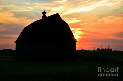 Photograph - Iowa Sunset by Kathy M Krause