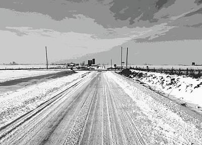 Photograph - Iowa Winter by David Bearden