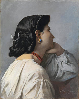 Painting - Iphigenia by Anselm Feuerbach