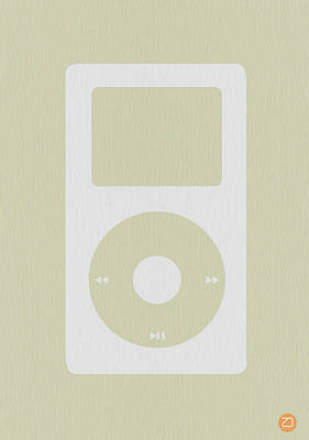Retro Photograph - iPod by Naxart Studio