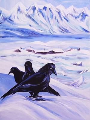 Iqaluit Art Print by Anna  Duyunova