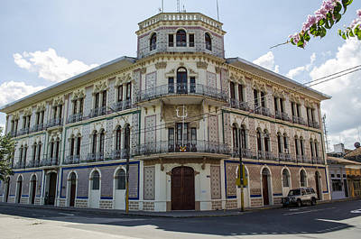 Photograph - Iquitos Opera House? by Allen Sheffield