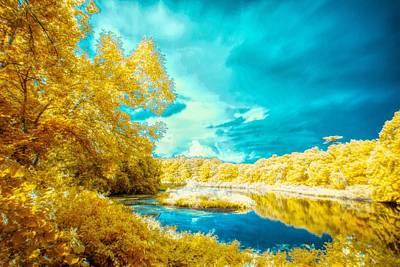 Photograph - Ir Landscape 2 by Lilia D