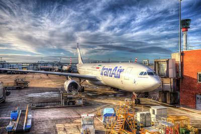 Photograph - Iran Air Airbus A330-200 by David Pyatt