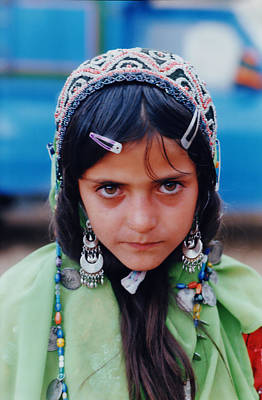 Iranian Nomad Girl Original