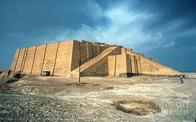 Photograph - Iraq: Ziggurat In Ur by Granger