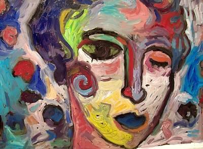 Painting - Iras Allelu by Mykul Anjelo