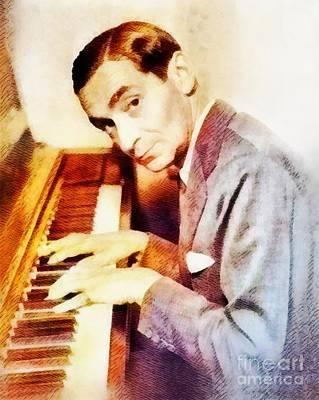 Music Paintings - Irving Berlin, Music Legend by Esoterica Art Agency