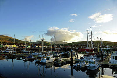 Photograph - Ireland - Boats At The Bay by Bill Jordan