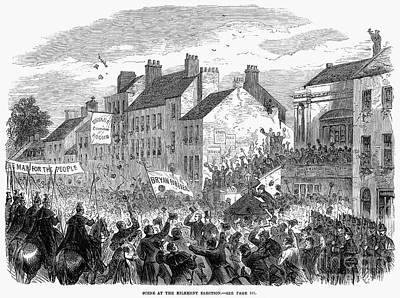 Ireland: Election, 1865 Art Print