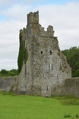 Photograph - Ireland Kells Priory Seven Towers Medieval Castle Tower House Ruin County Kilkenny by Shawn O'Brien