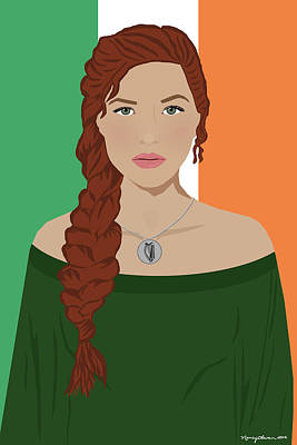 Digital Art - Ireland by Nancy Levan