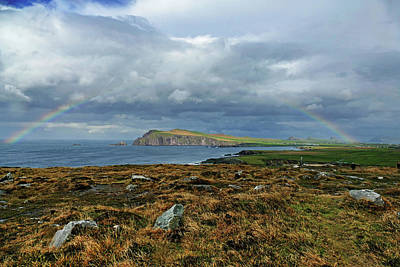 Photograph - Ireland Rainbow At Slea Head 2 by Bill Jordan