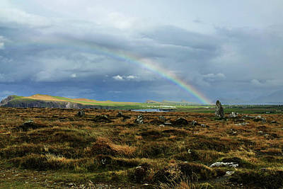 Photograph - Ireland Rainbow At Slea Head 3 by Bill Jordan