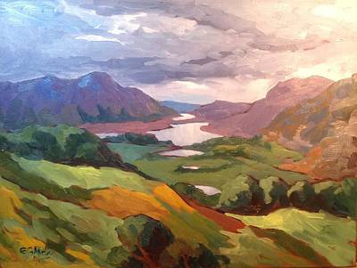 Wall Art - Painting - Ireland, Ring Of Kerry by Edward Abela