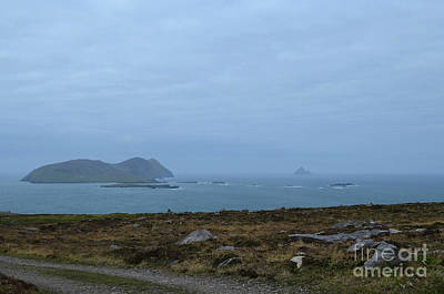 Photograph - Ireland's Blasket Islands Off The Shore Of Dingle by DejaVu Designs