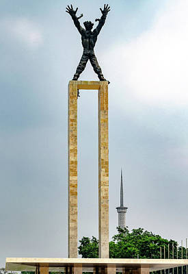 Photograph - Irian Jaya Liberation Monument by Steven Richman