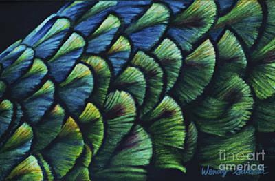 Iridescence Art Print by Wendy Galletta