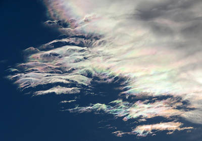Photograph - Iridescent Clouds 3 by Frank Lee Hawkins