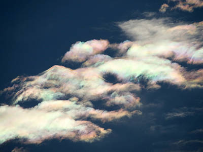 Photograph - Iridescent Clouds by Frank Lee Hawkins