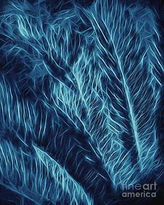 Digital Art - Iridescent Fern In Oil by Ed Churchill