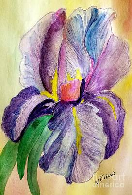 Painting - Iris 2 by Maria Urso