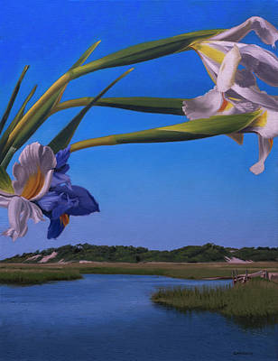 Provincetown Painting - Iris Arc by Tony Chimento