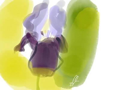 Iris Art Print by Carl Griffasi