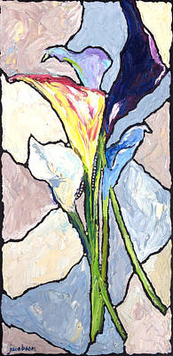 Painting - Iris by Carrie Jacobson