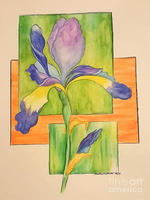 Painting - Iris by Christina A Pacillo