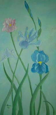Iris Dreams Art Print by Alanna Hug-McAnnally