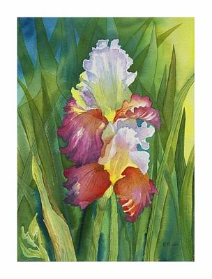 Painting - Iris by Elena Mahoney