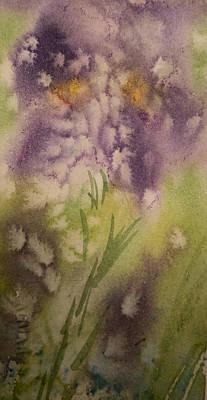 Iris Fantasy Art Print