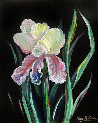 Painting - Iris by Gina De Gorna